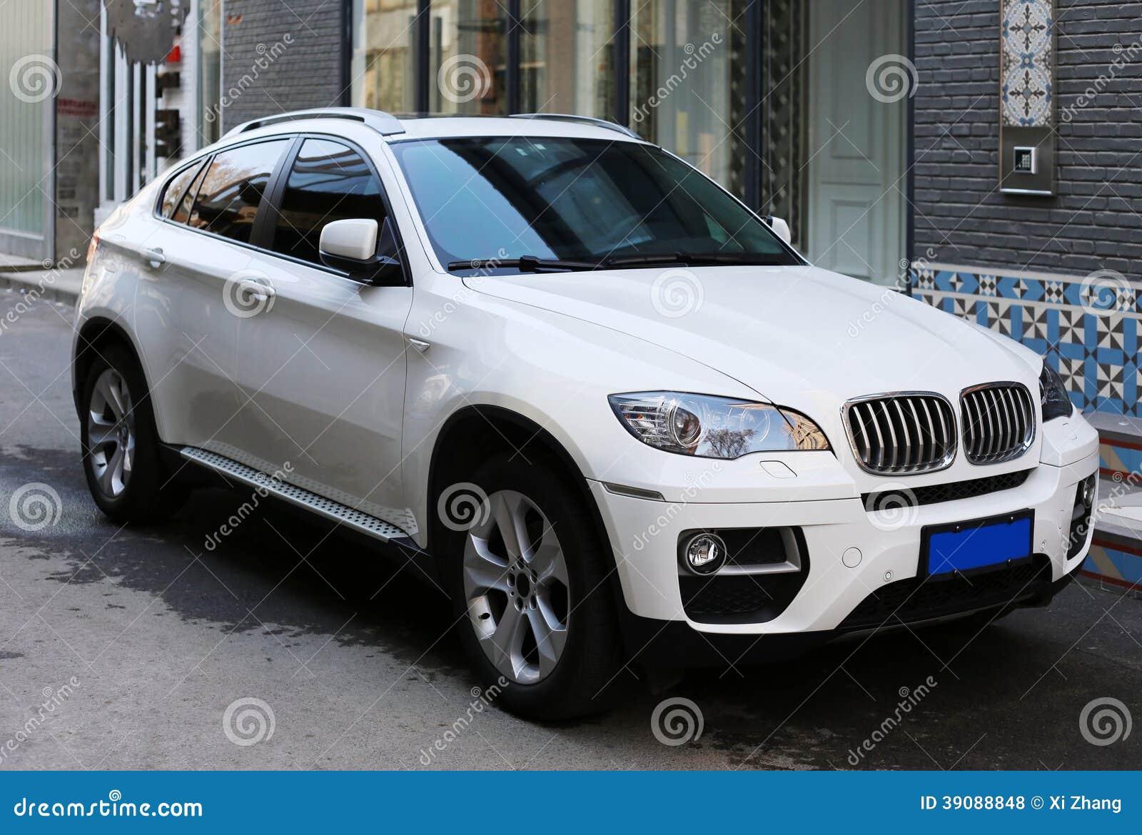 Bmw Suv Stock Photo Image Of Building White Automobile