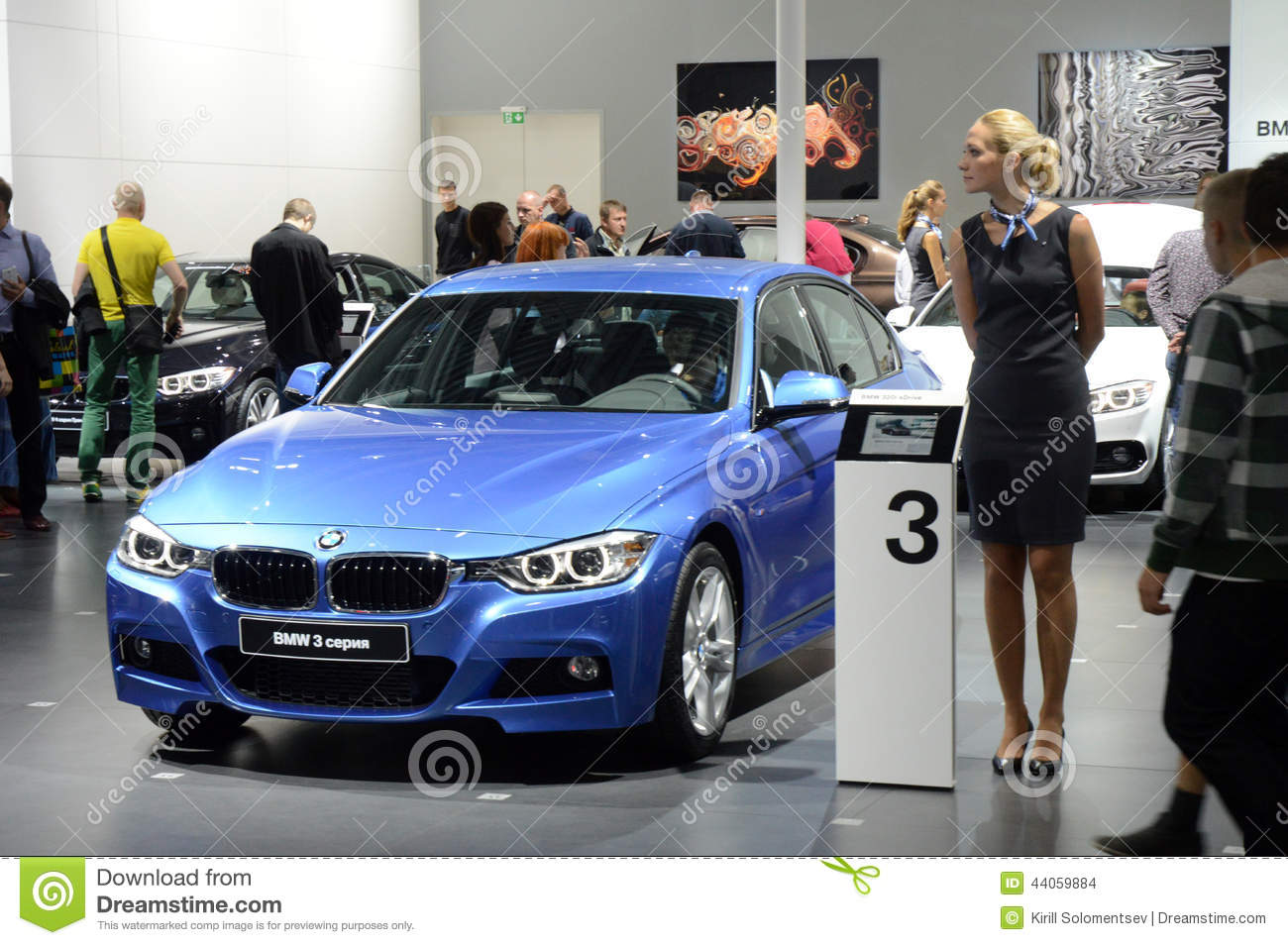 Bmw third series moscow international automobile salon for 3rd international salon of photography smederevo 2013