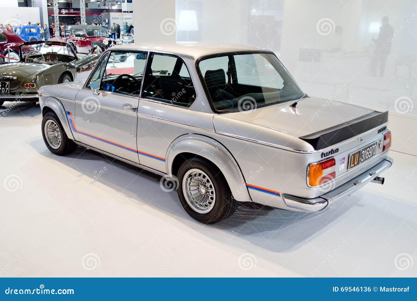 BMW turbo bmw 2002 : BMW 2002 Turbo At Milano Autoclassica 2016 Editorial Photo - Image ...