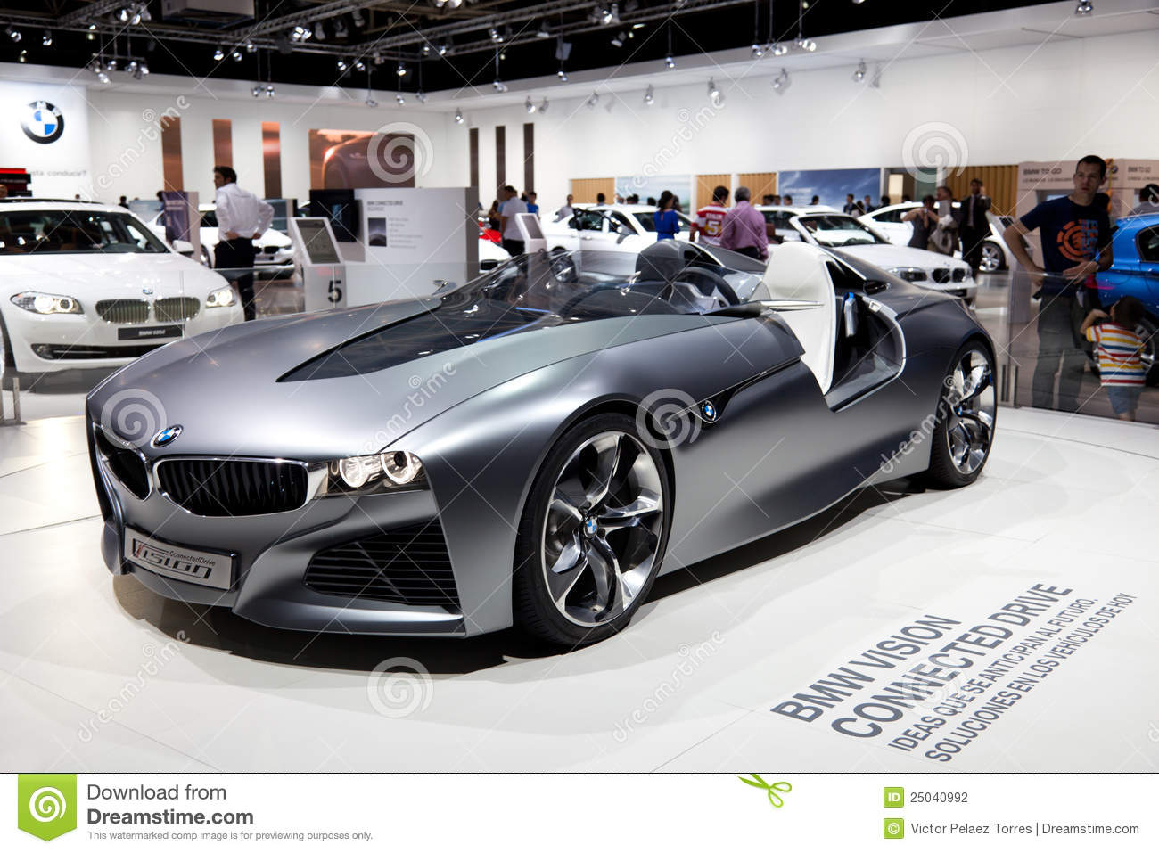 Bmw Vision Car Prototype Editorial Photography Image Of