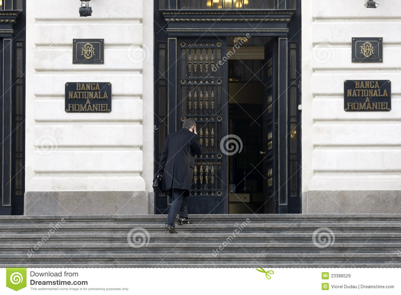 Download BNR - Romanian National Bank Editorial Stock Image - Image of nationala, loans: 23388529