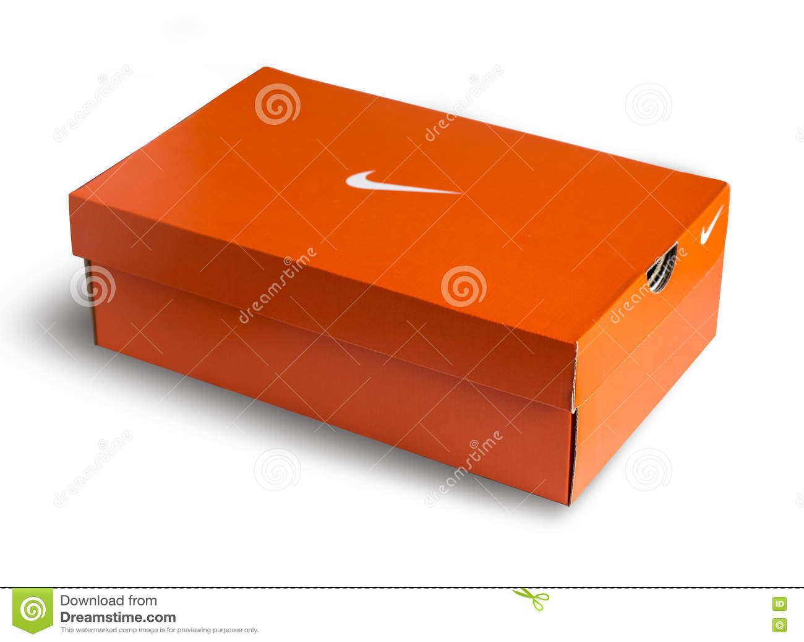 Connu Boîte De Chaussures Rouge De Nike Photo éditorial - Image: 72270811 MN28