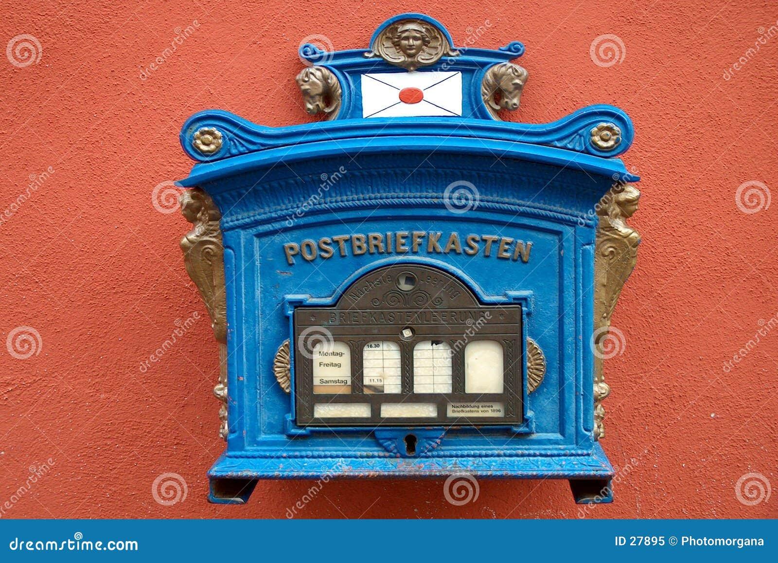 Boîte aux lettres 1896