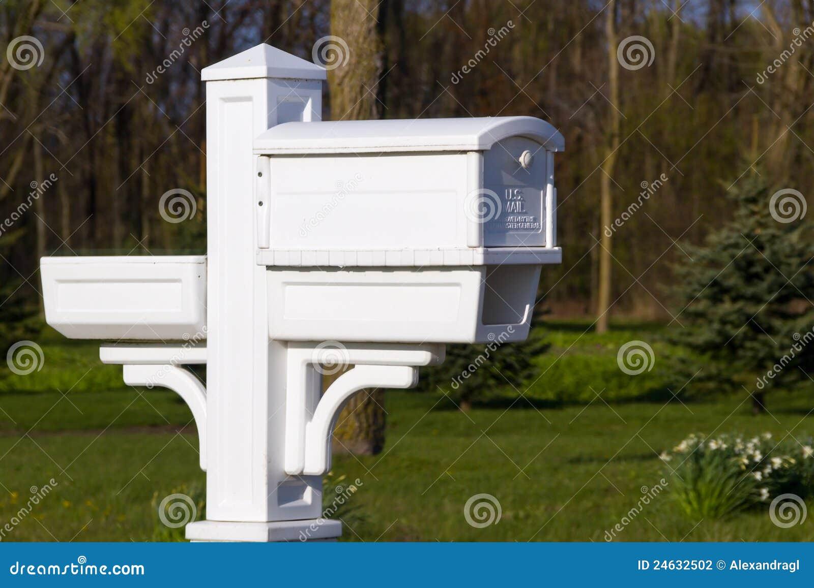 bo te aux lettres am ricaine photo stock image du. Black Bedroom Furniture Sets. Home Design Ideas