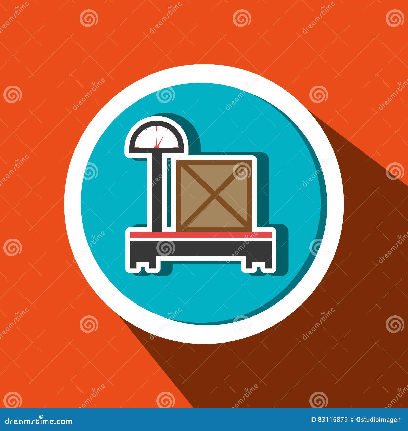 Boîte de empaquetage de poids de la livraison