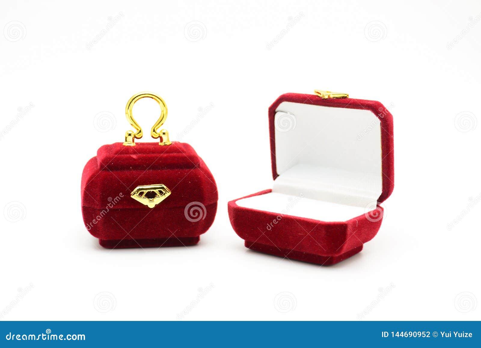 Boîte de fantaisie d anneau