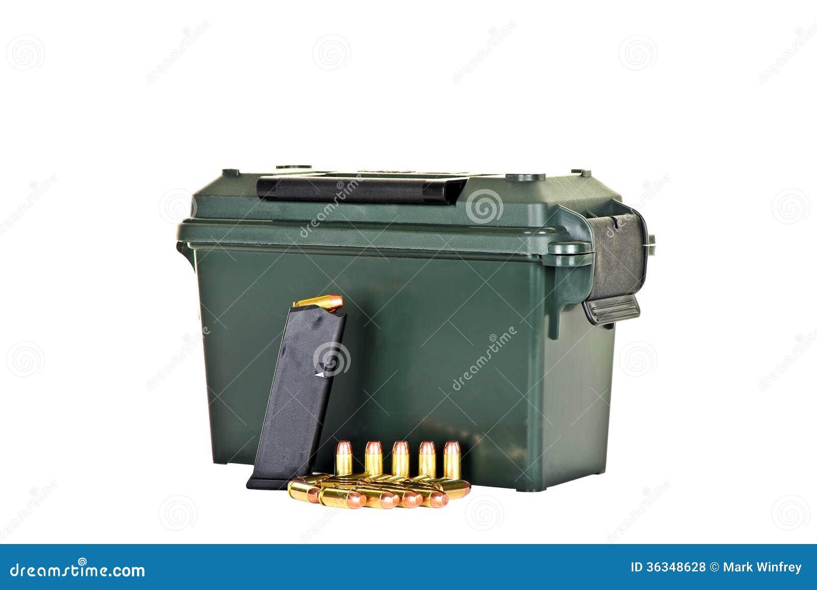 Boîte de munitions
