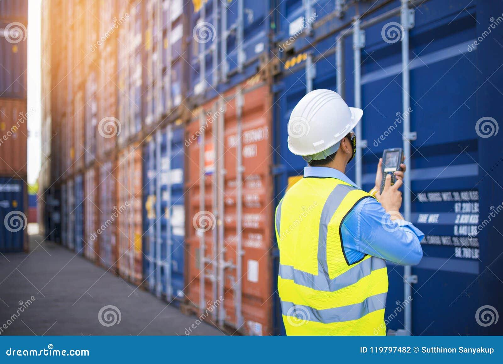 Boîte de récipients de chargement de contrôle d agent de maîtrise de bateau de fret de cargaison pour des importations-exportatio