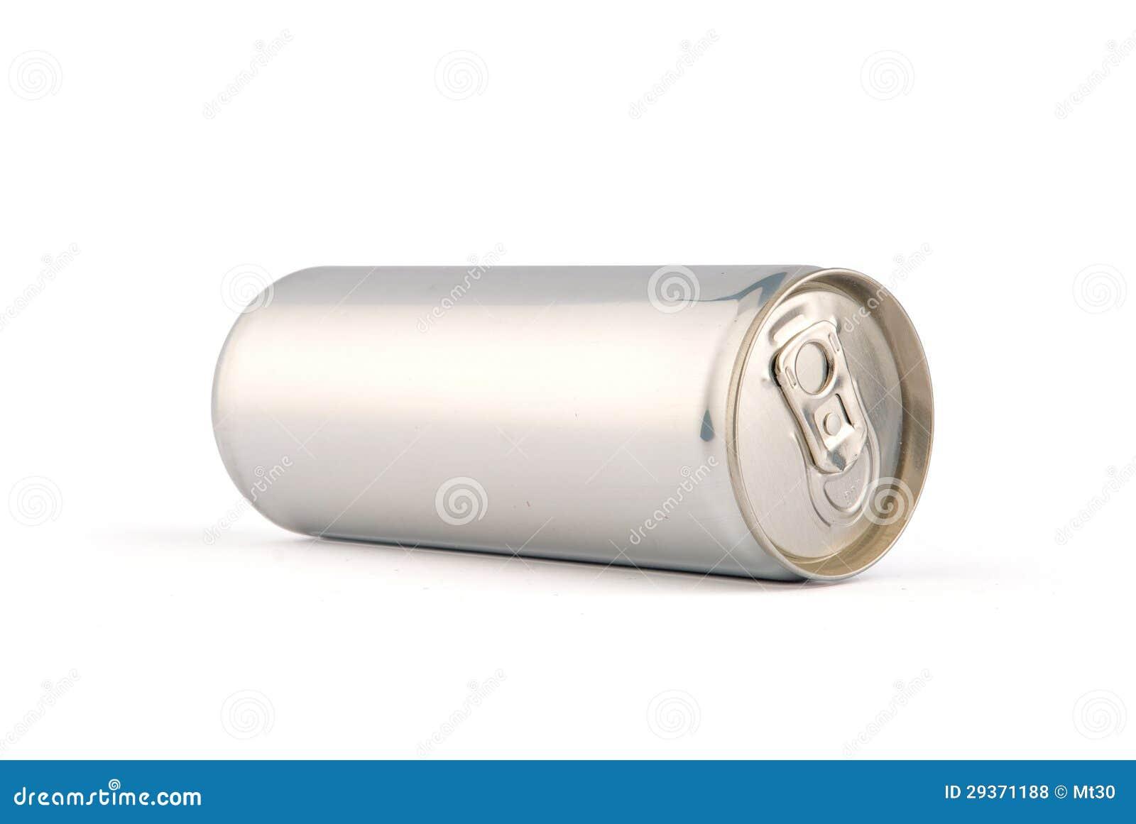 Boîte en aluminium blanche