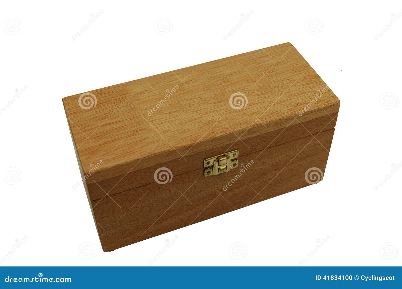 bo te en bois avec le crochet en laiton et couvercle ferm photo stock image 41834100. Black Bedroom Furniture Sets. Home Design Ideas