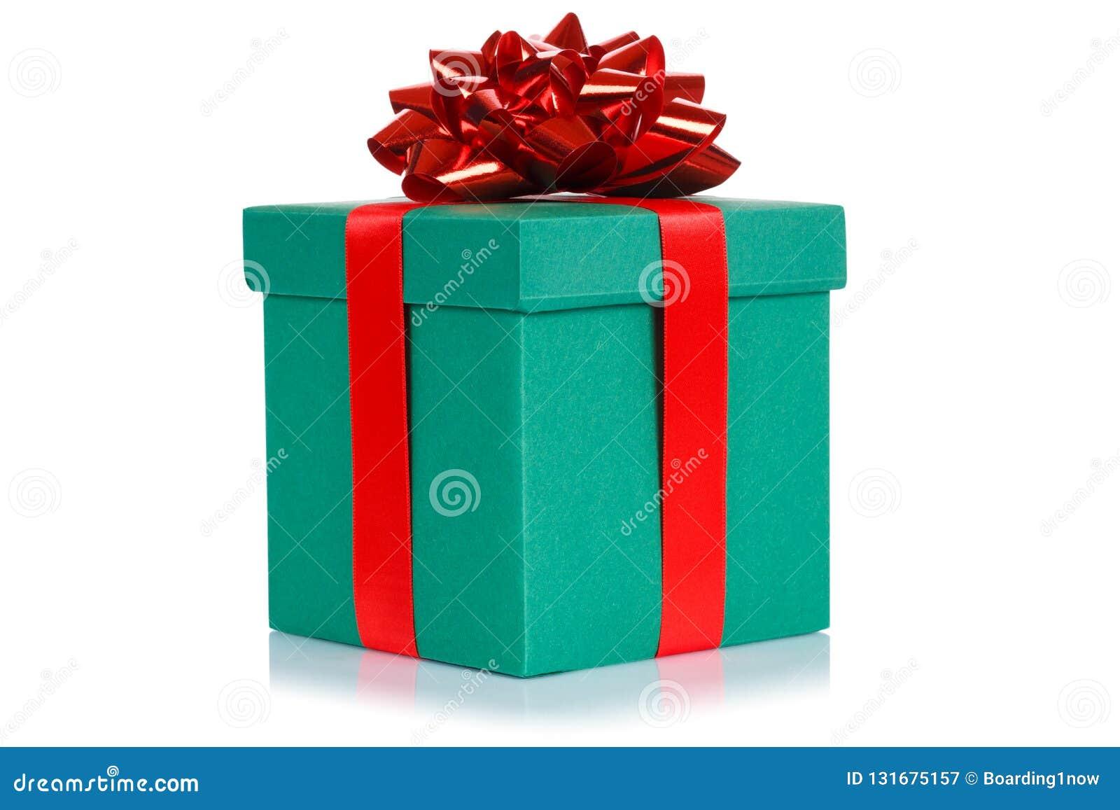 Boite Vert Fonce De Noel De Cadeau D Anniversaire De Souhait