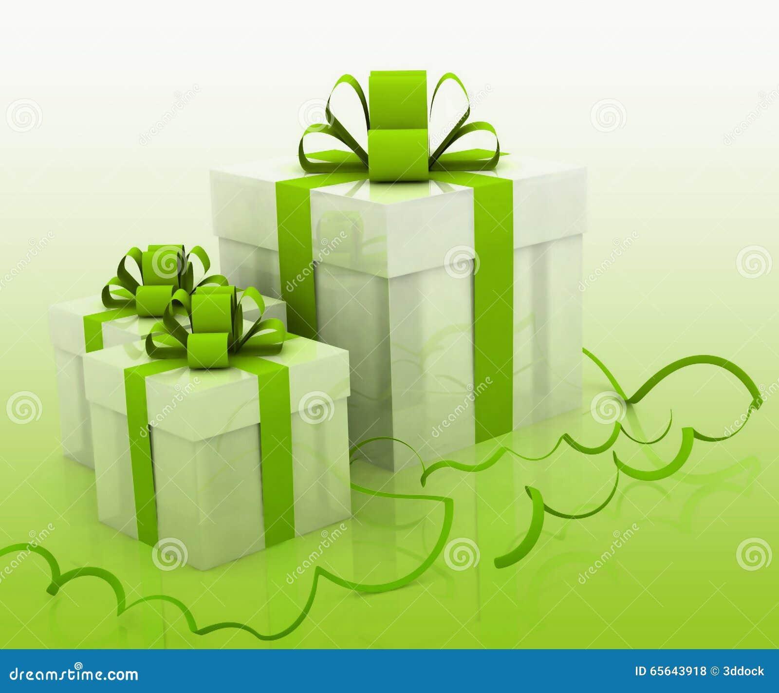 Boîte vide pour le cadeau