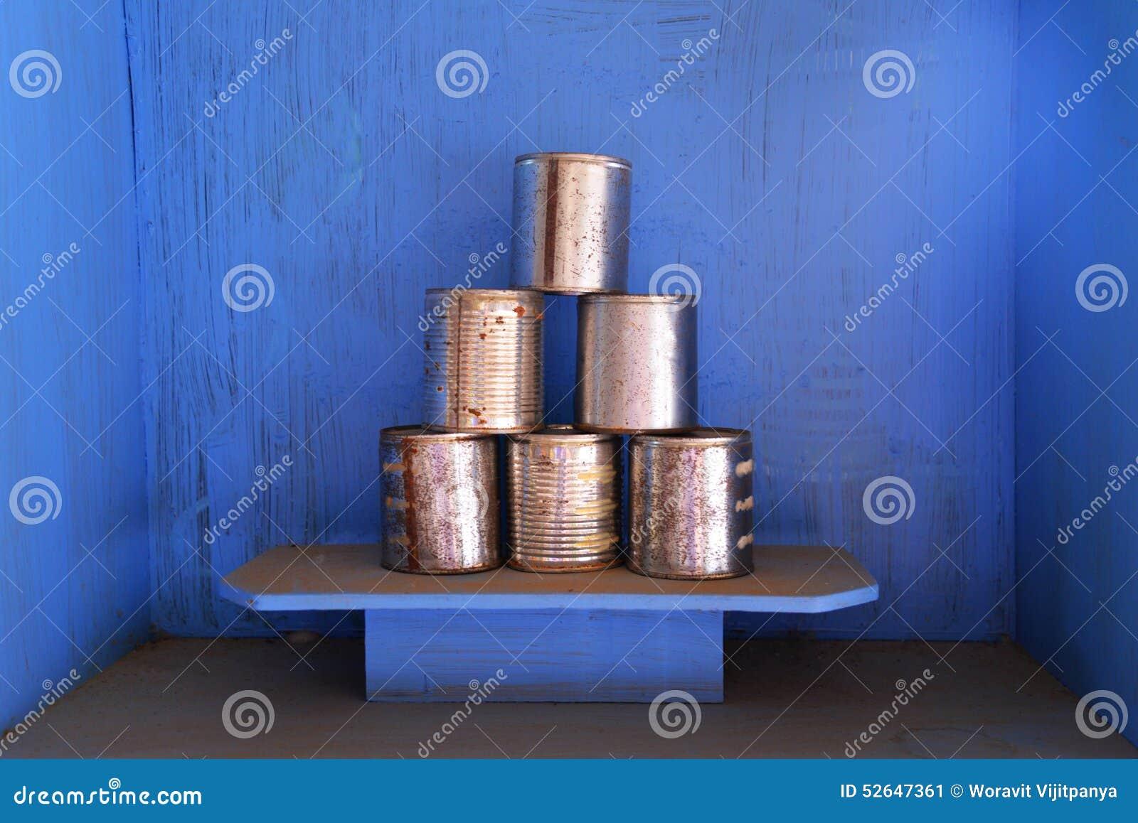Boîtes en aluminium