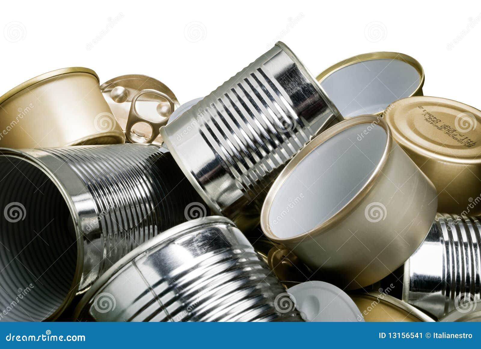 Boîtes en fer blanc pour la réutilisation