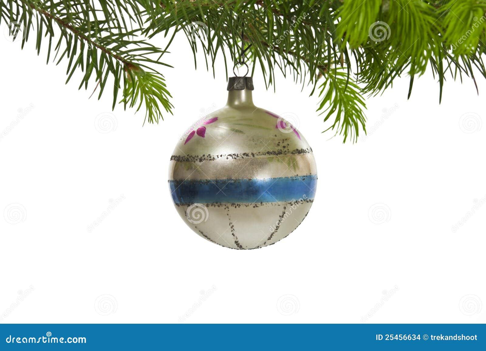 Boże narodzenia target4824_1_ retro ornamentu drzewa