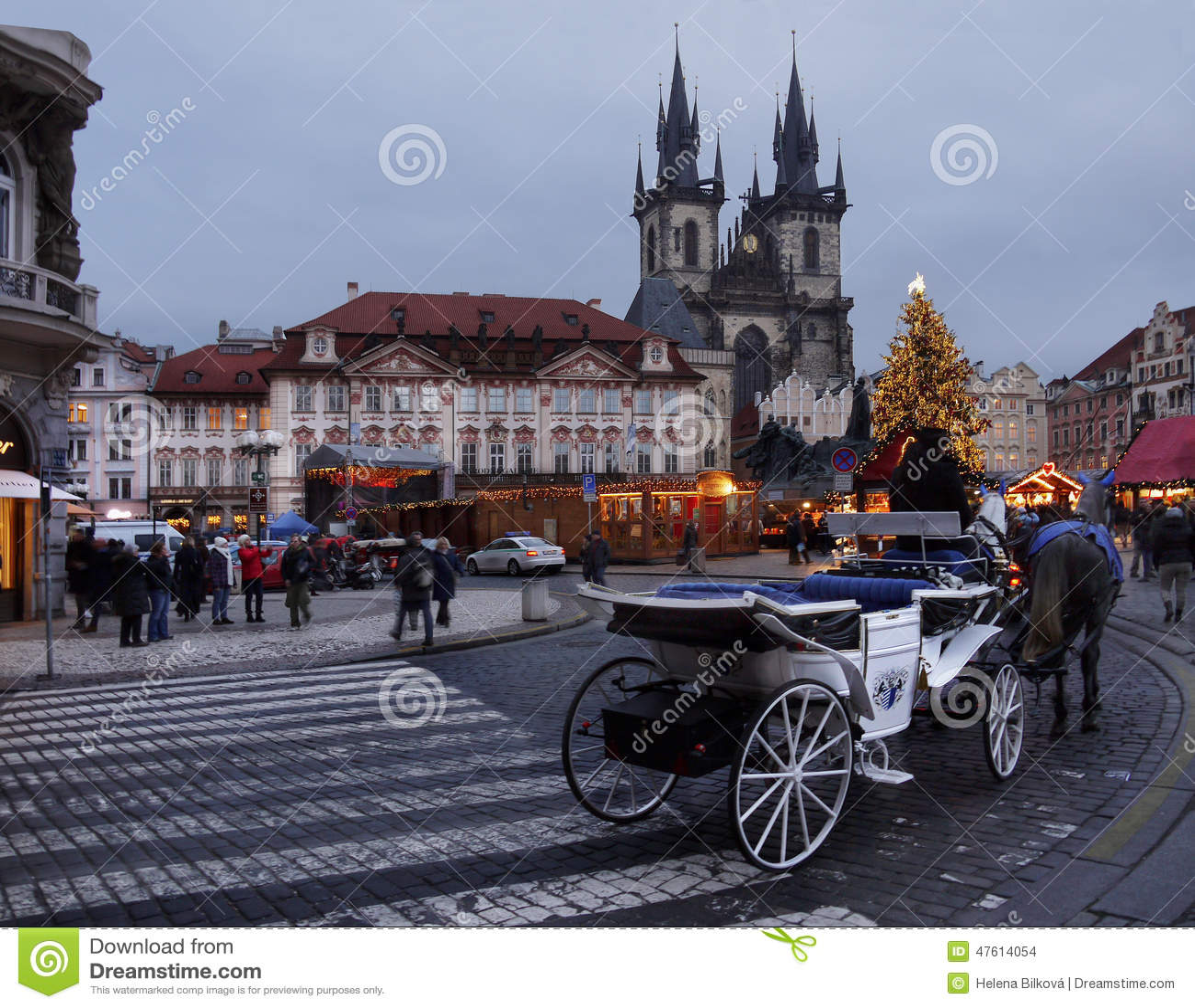 Boże Narodzenia Wprowadzać na rynek, Praga