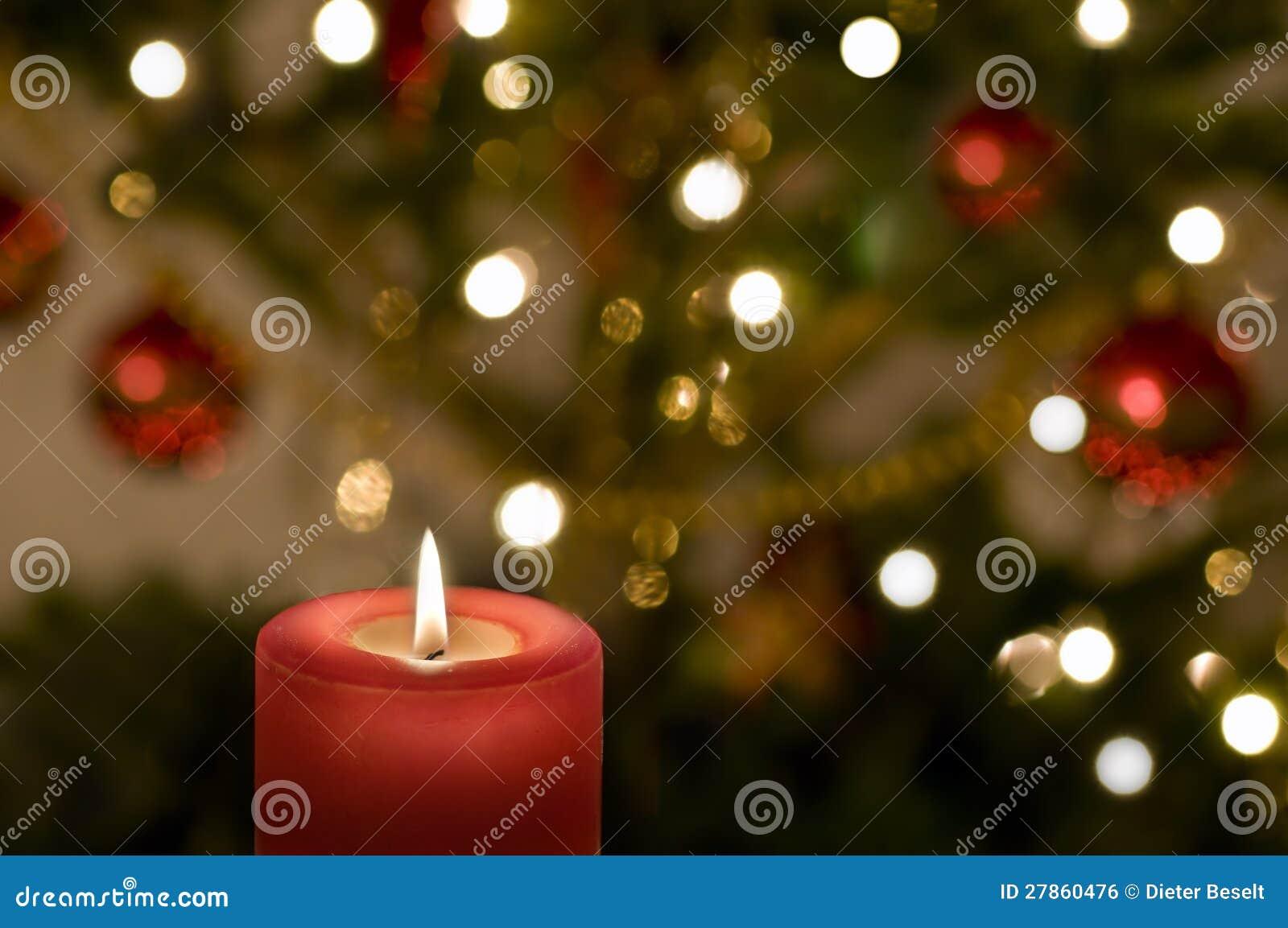 Boże Narodzenie świeczka