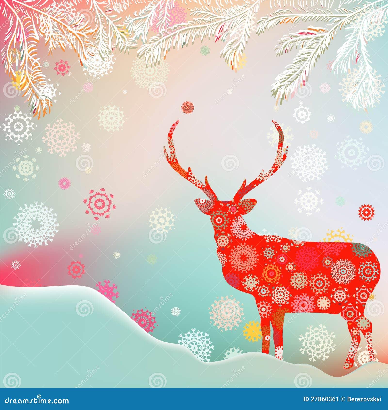 Boże Narodzenie ornamenty robić od płatków śniegu. EPS 8