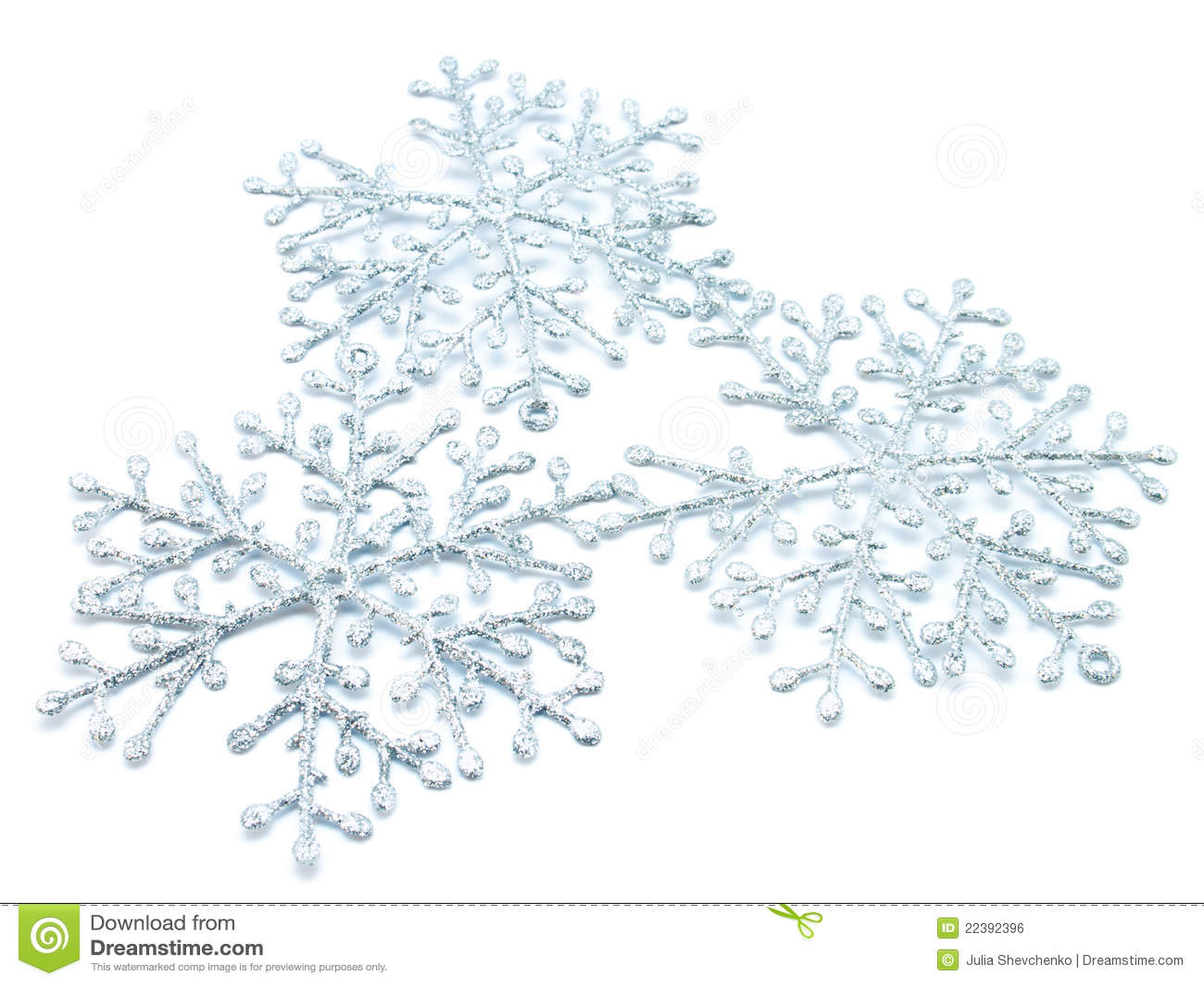 Boże narodzenie płatek śniegu