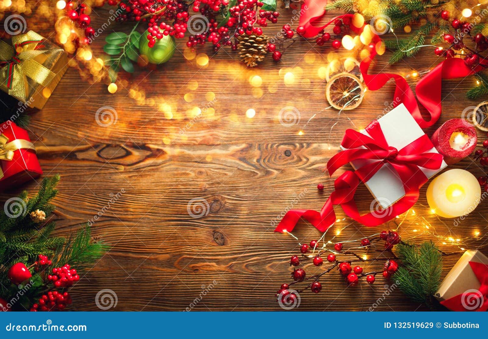 Boże narodzenie w tle obramiająca wakacyjna scena Kolorowi zawijający prezentów pudełka, piękny tło z, Xmas, nowego roku i, preze