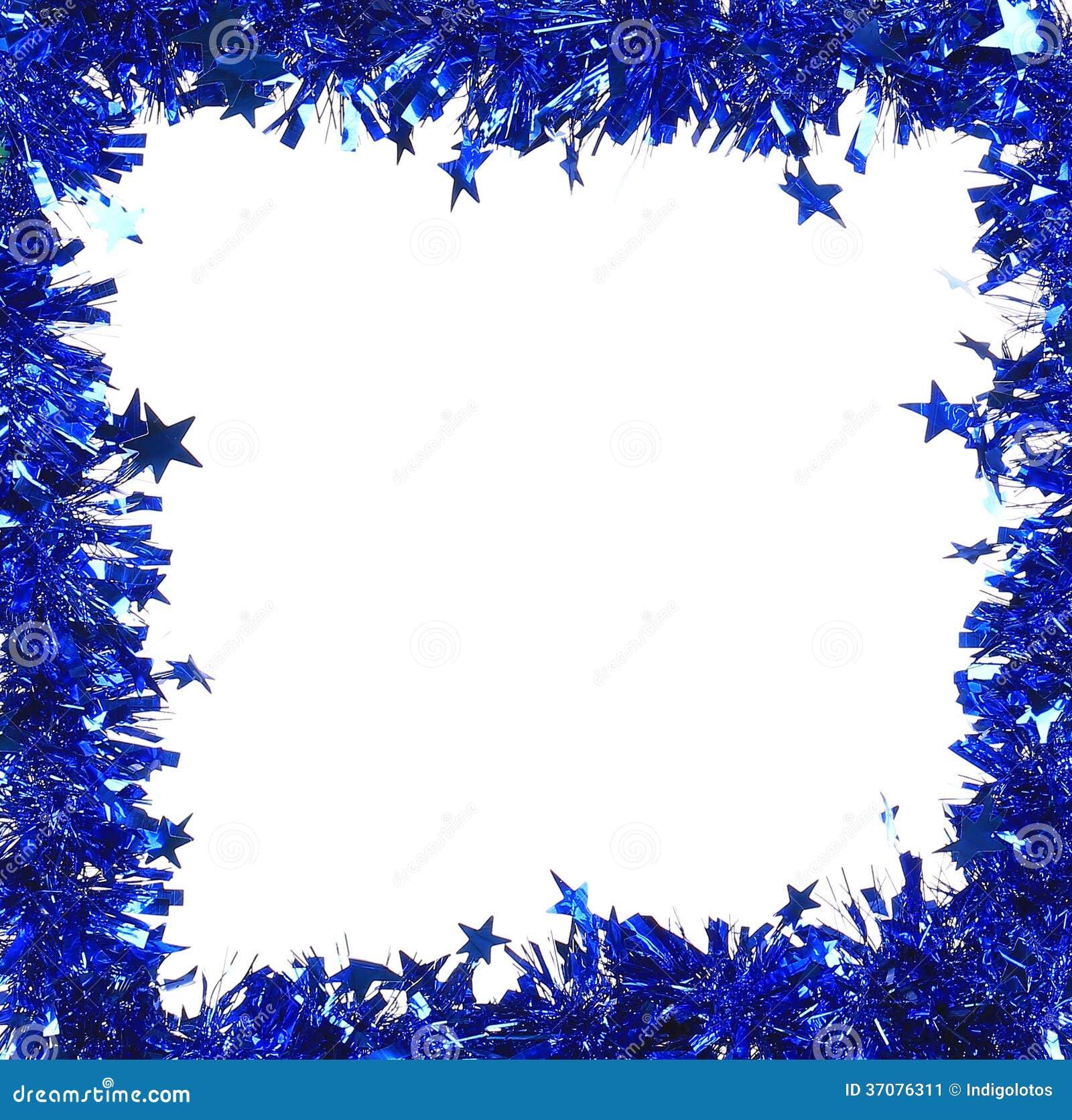 Download Bożenarodzeniowy Błękitny świecidełko Z Gwiazdami Jak Ramę. Obraz Stock - Obraz złożonej z wyznaczający, ostrość: 37076311