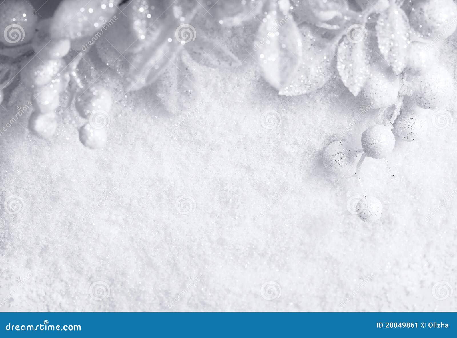 Bożenarodzeniowy biały sezonowy tło