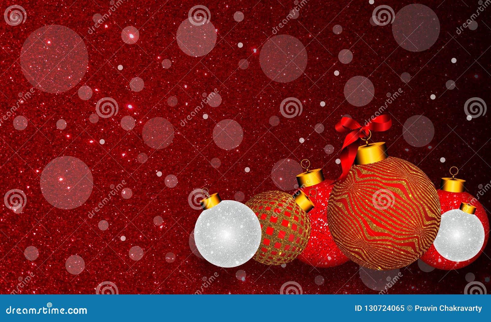 Bożenarodzeniowy tło z ornamentem, faborek na kolorowym czerwonym tle i