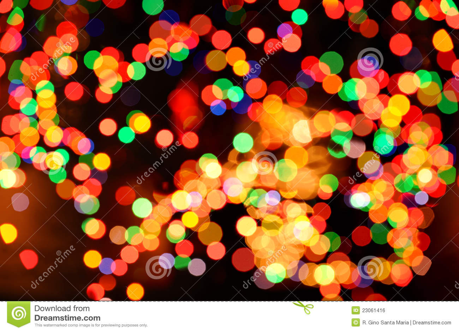 Bożonarodzeniowe Światła Abstrakta Tło