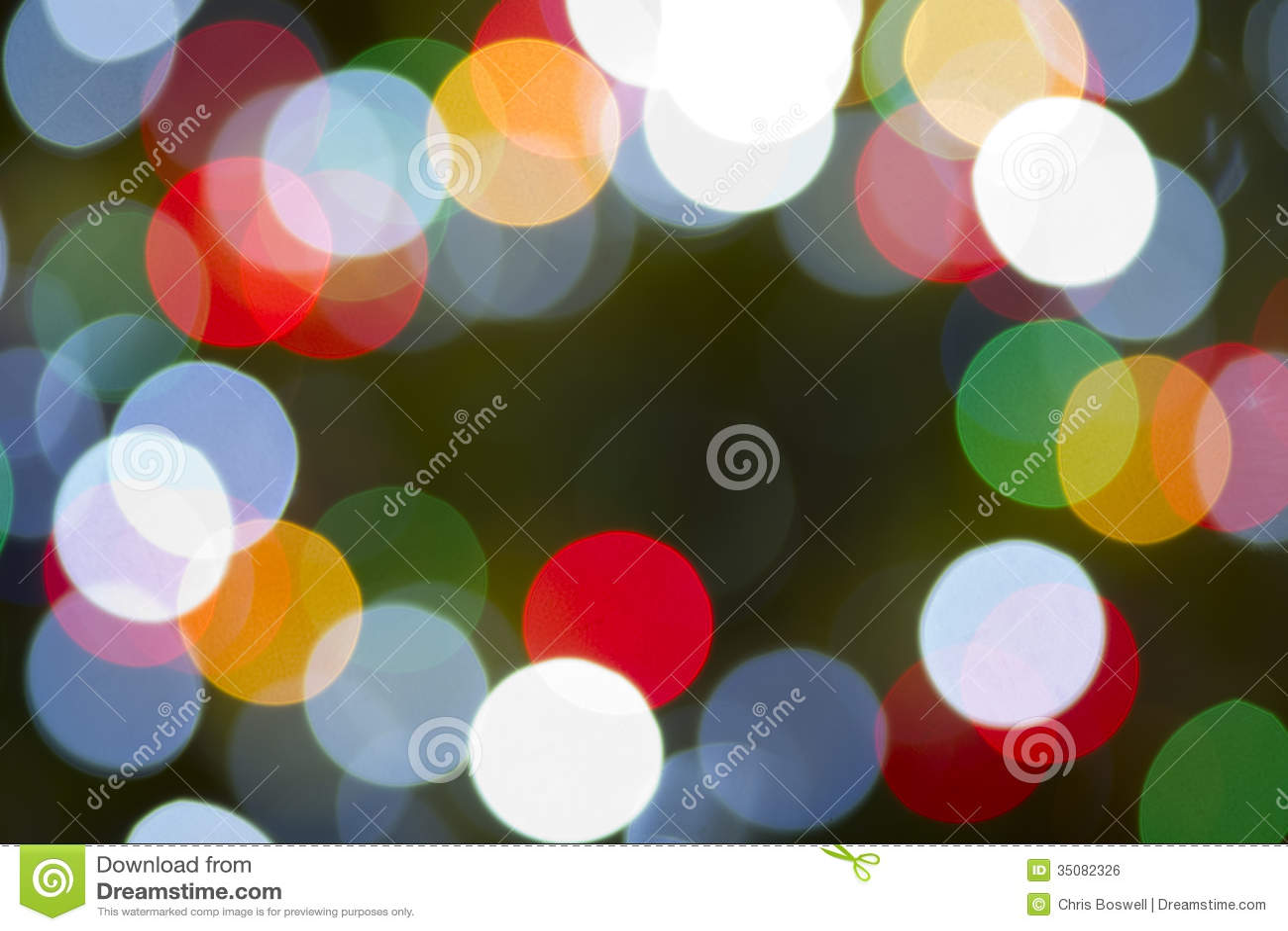 Bożonarodzeniowe Światła koloru tła Horyzontalna Kółkowa tęcza