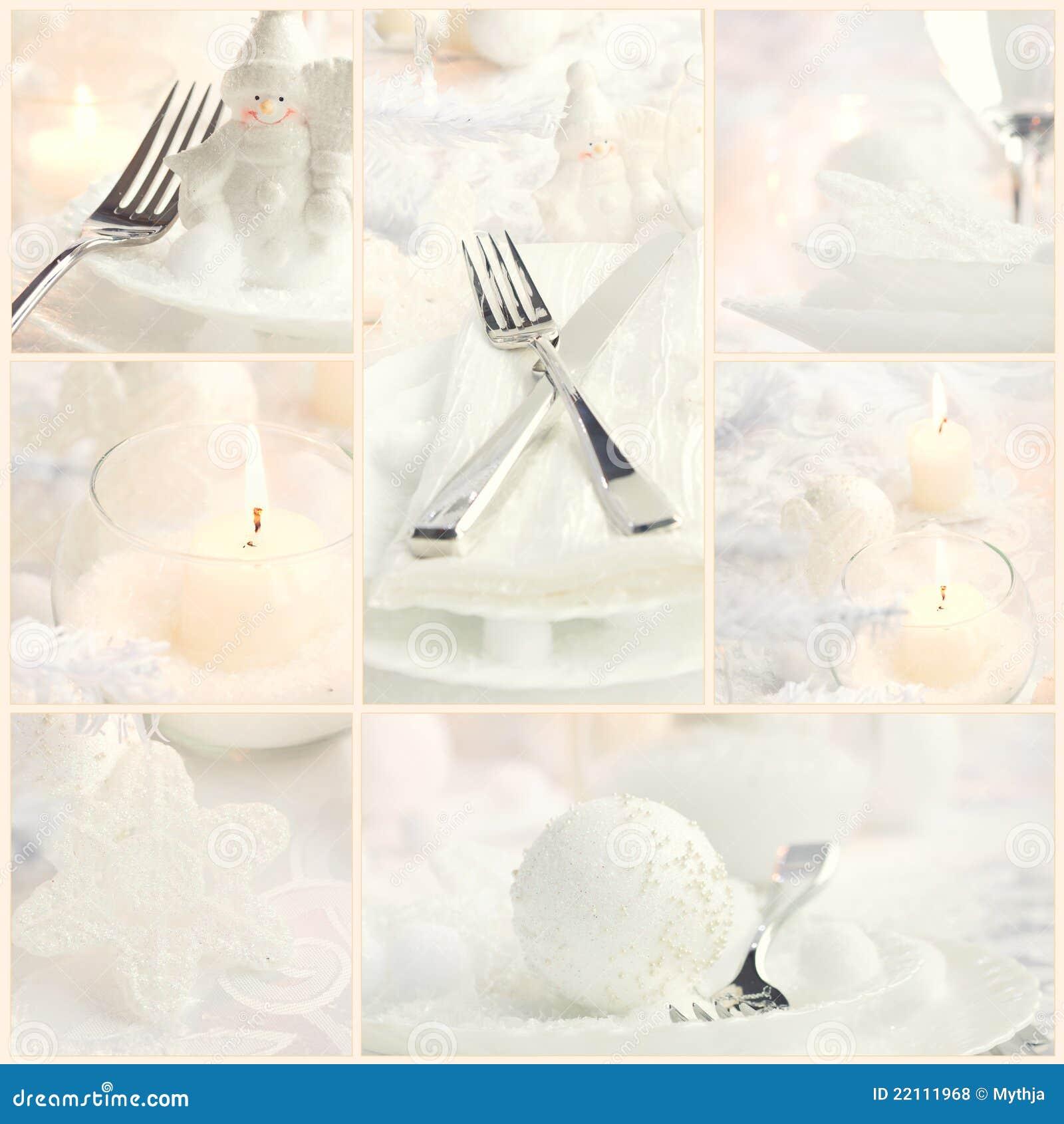 Bożych narodzeń kolażu gość restauracji