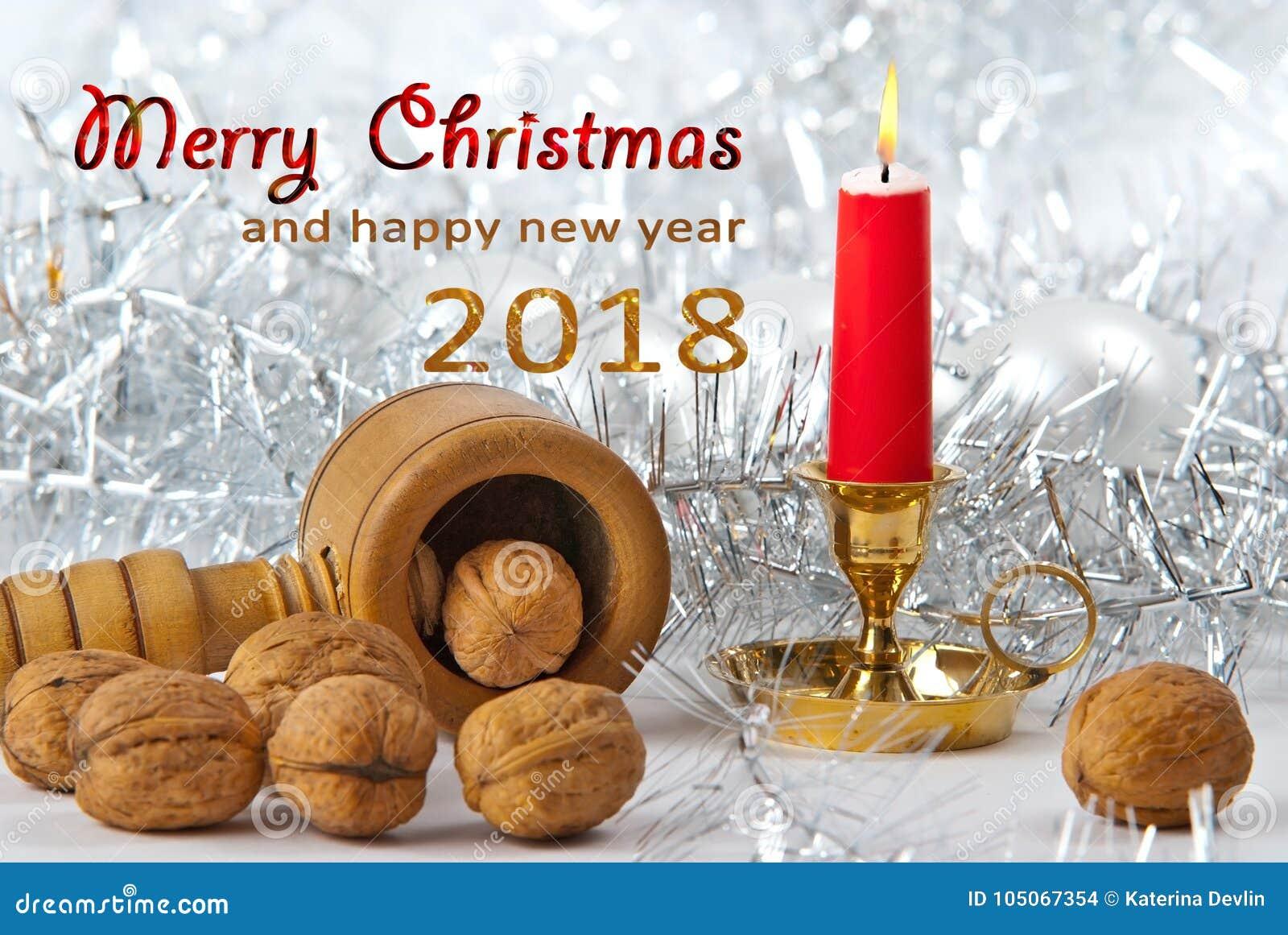Bożych Narodzeń Wciąż życie z Wesoło bożymi narodzeniami i Szczęśliwy Nowym