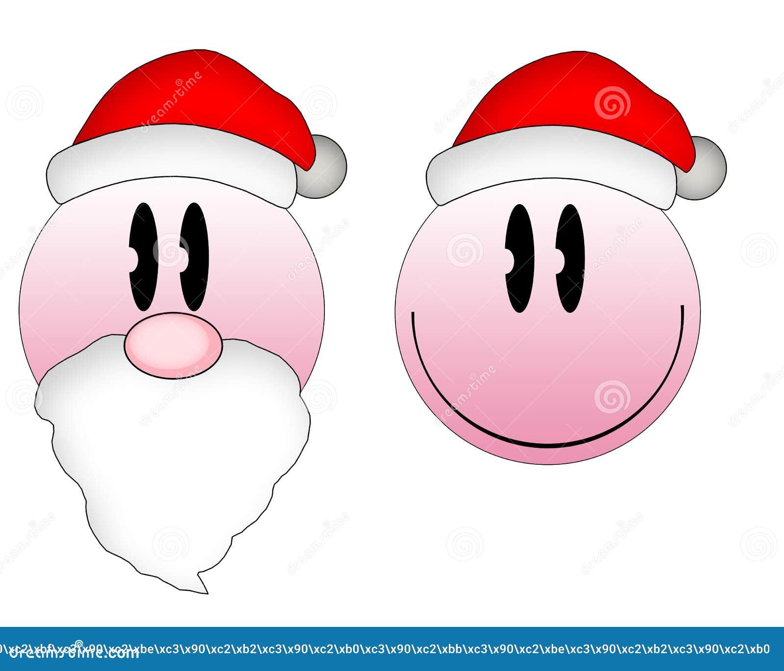 Download Bożenarodzeniowi emoticons ilustracji. Ilustracja złożonej z eventide - 37084970