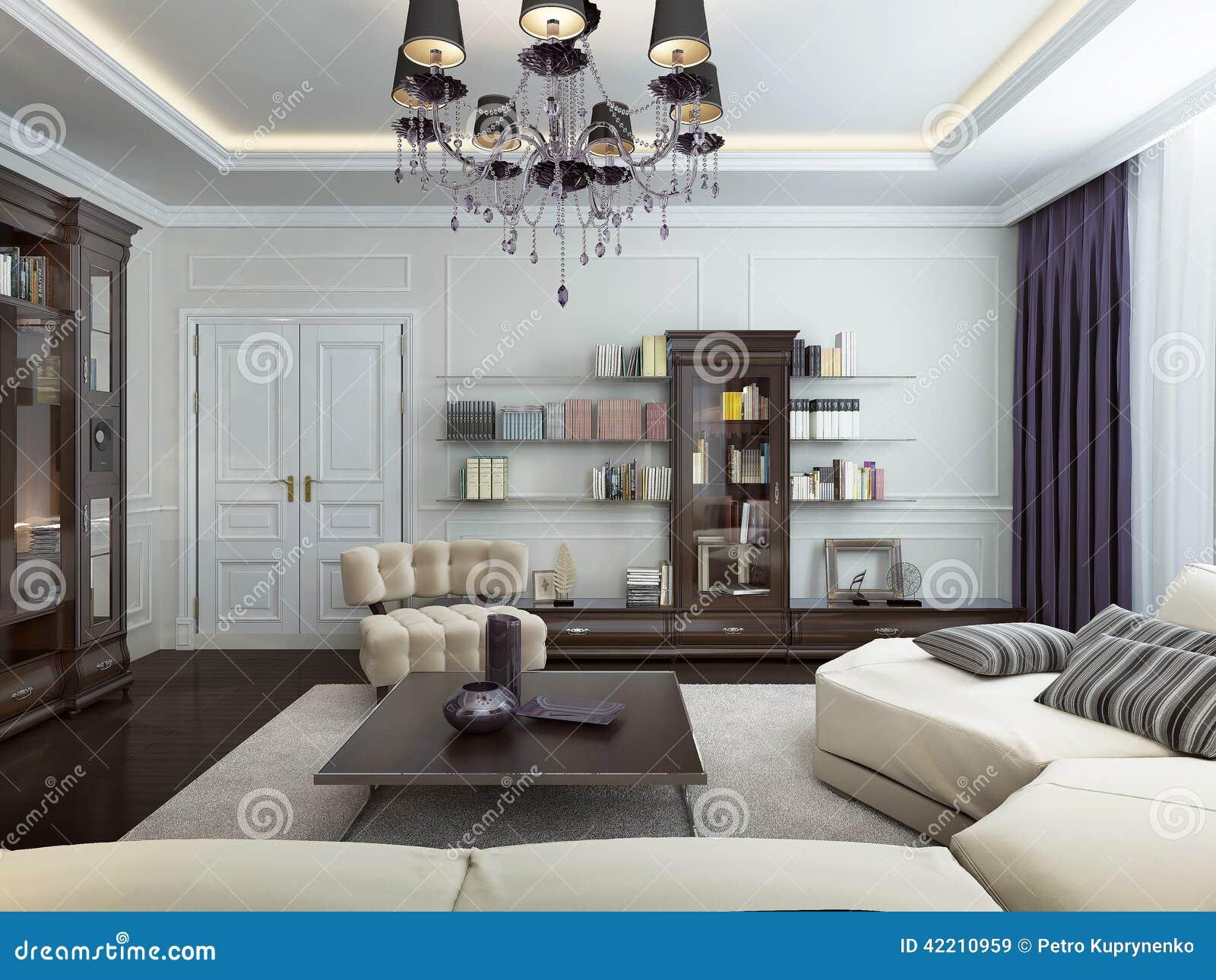 Bo I Art Deco Stil Stock Illustrationer - Bild: 42210919