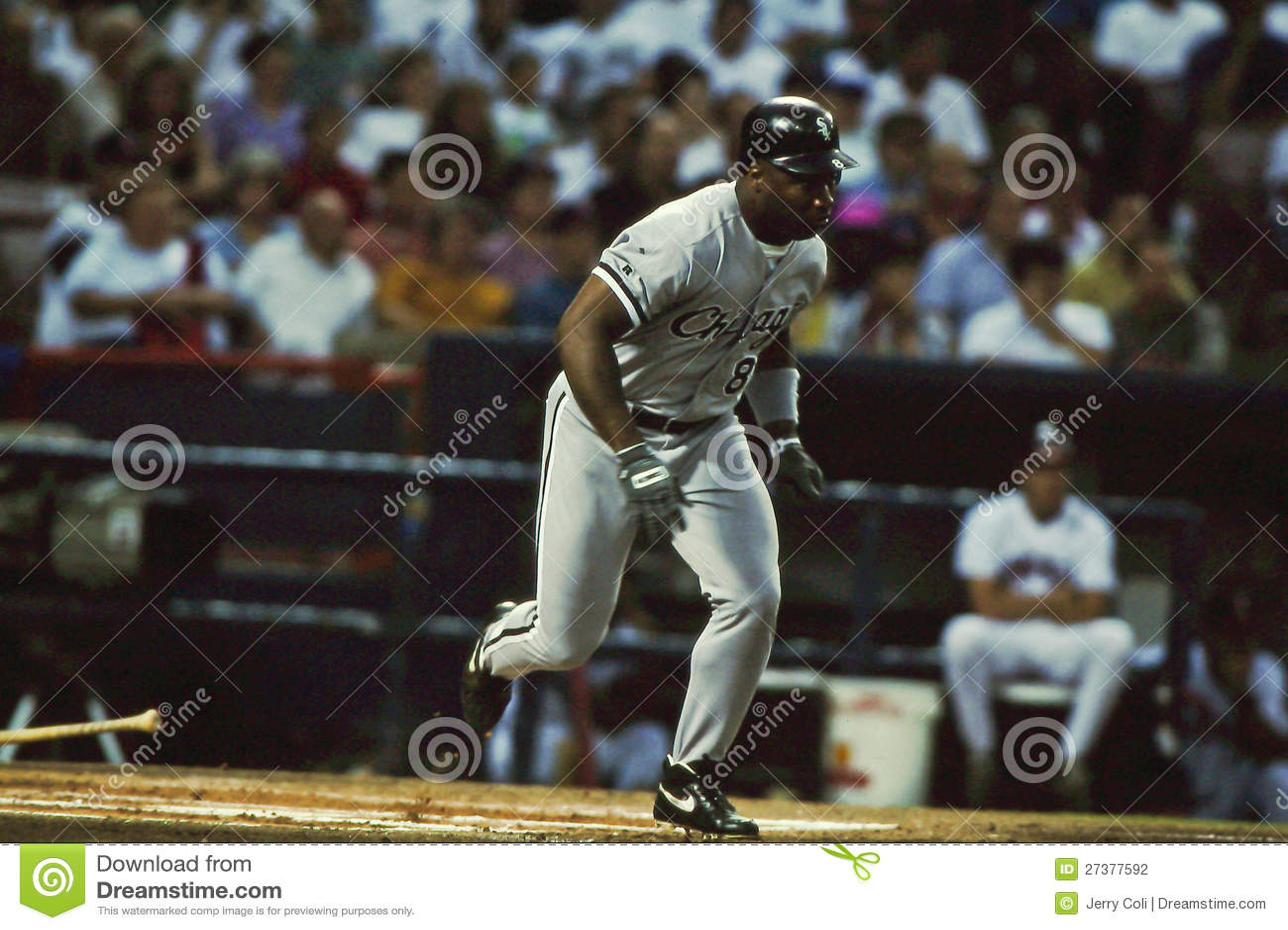 official photos 6bca9 af531 Bo Jackson Chicago White Sox Editorial Photography - Image ...