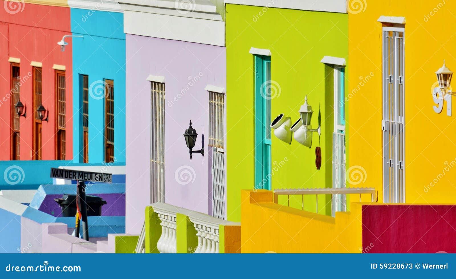Download BO Kaap imagen de archivo. Imagen de amarillo, ventana - 59228673