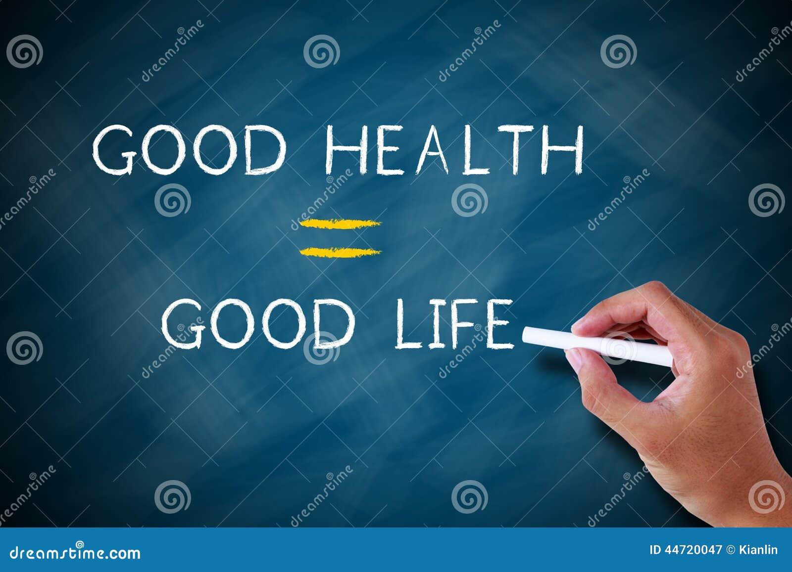Boa vida de boa saúde