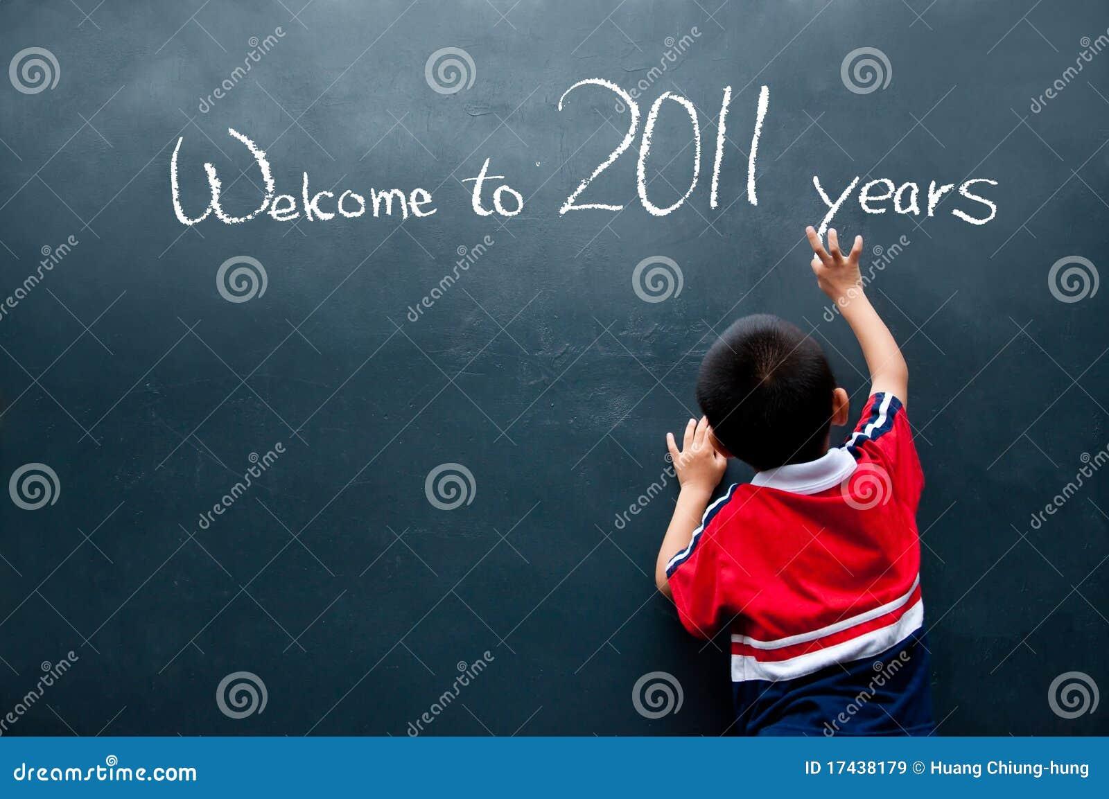 Boa vinda a 2011 anos