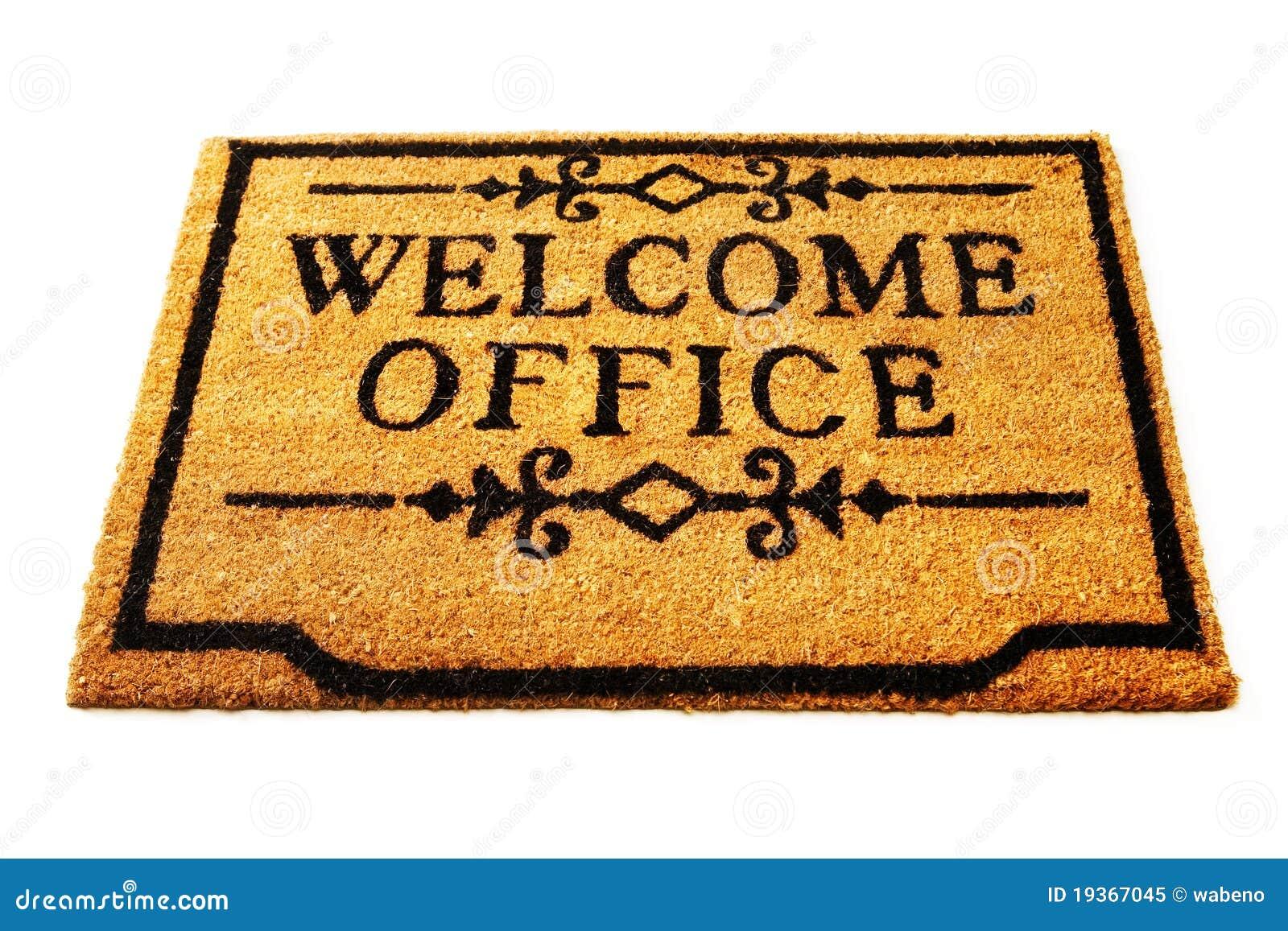 Boa vinda ao escritório