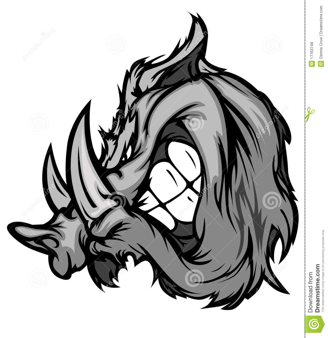 Boar Razorback Mascot Vector Logo Royalty Free Stock Photos - Image ...