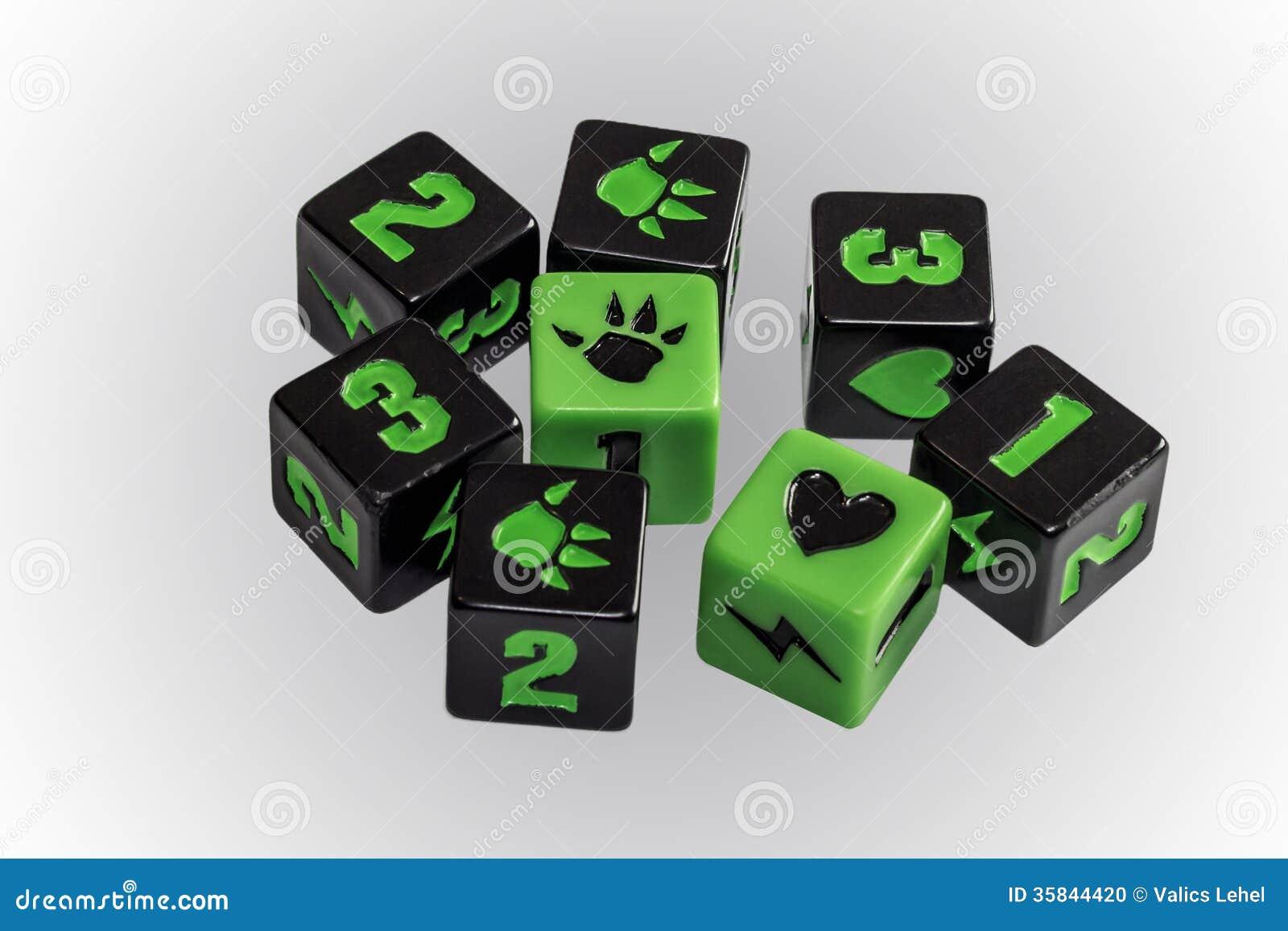 Craps game board