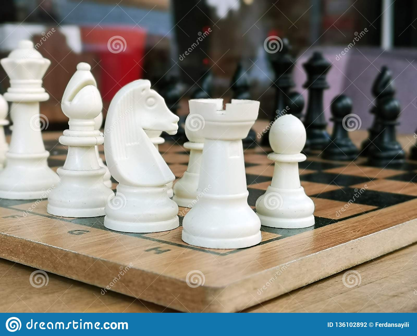 Chess is a popular ancient Board logic antagonistic game with special black and white pieces, on a cell Board for two intelligent