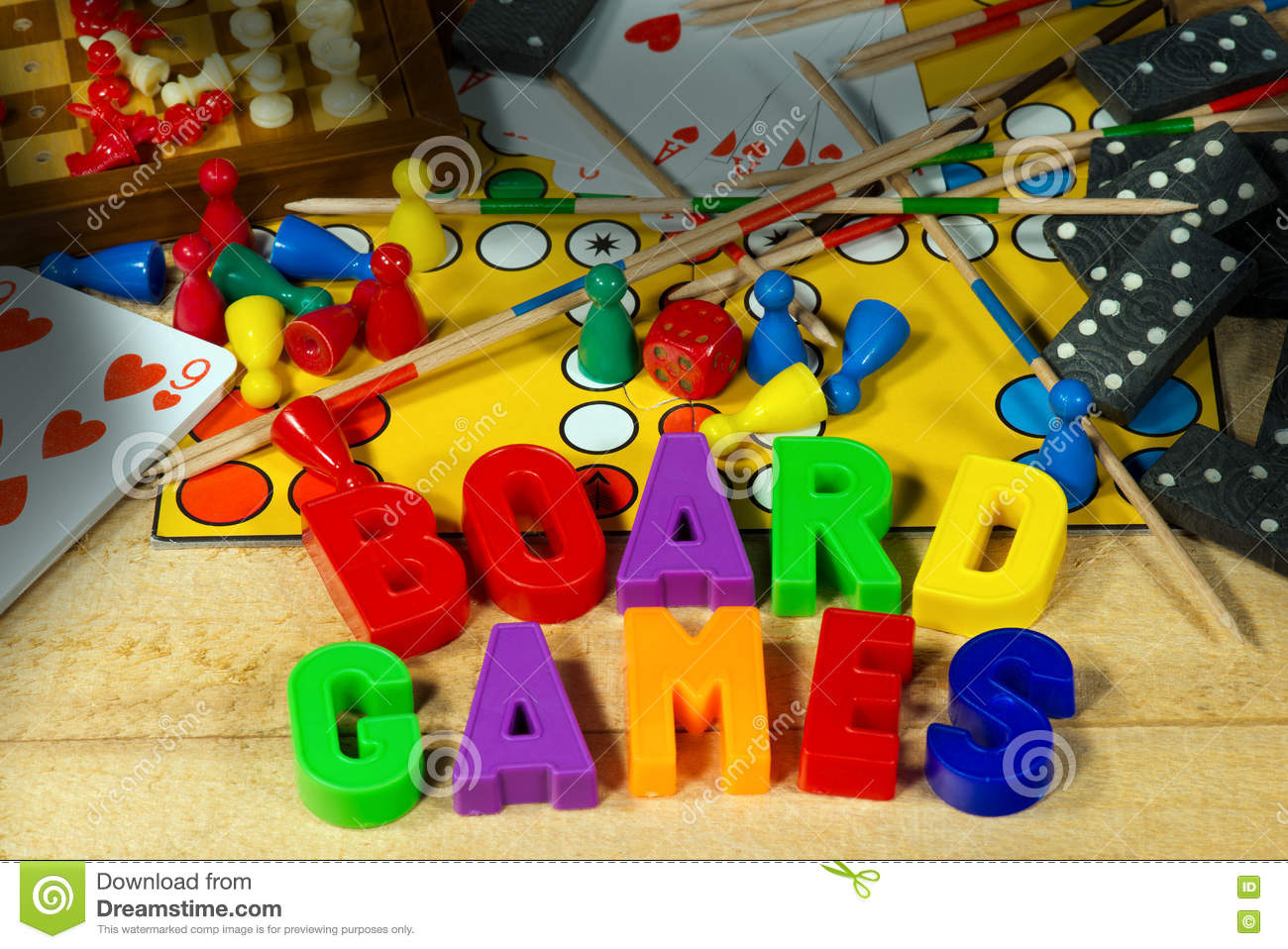 board games with magnetic letters stock photo image 72853654