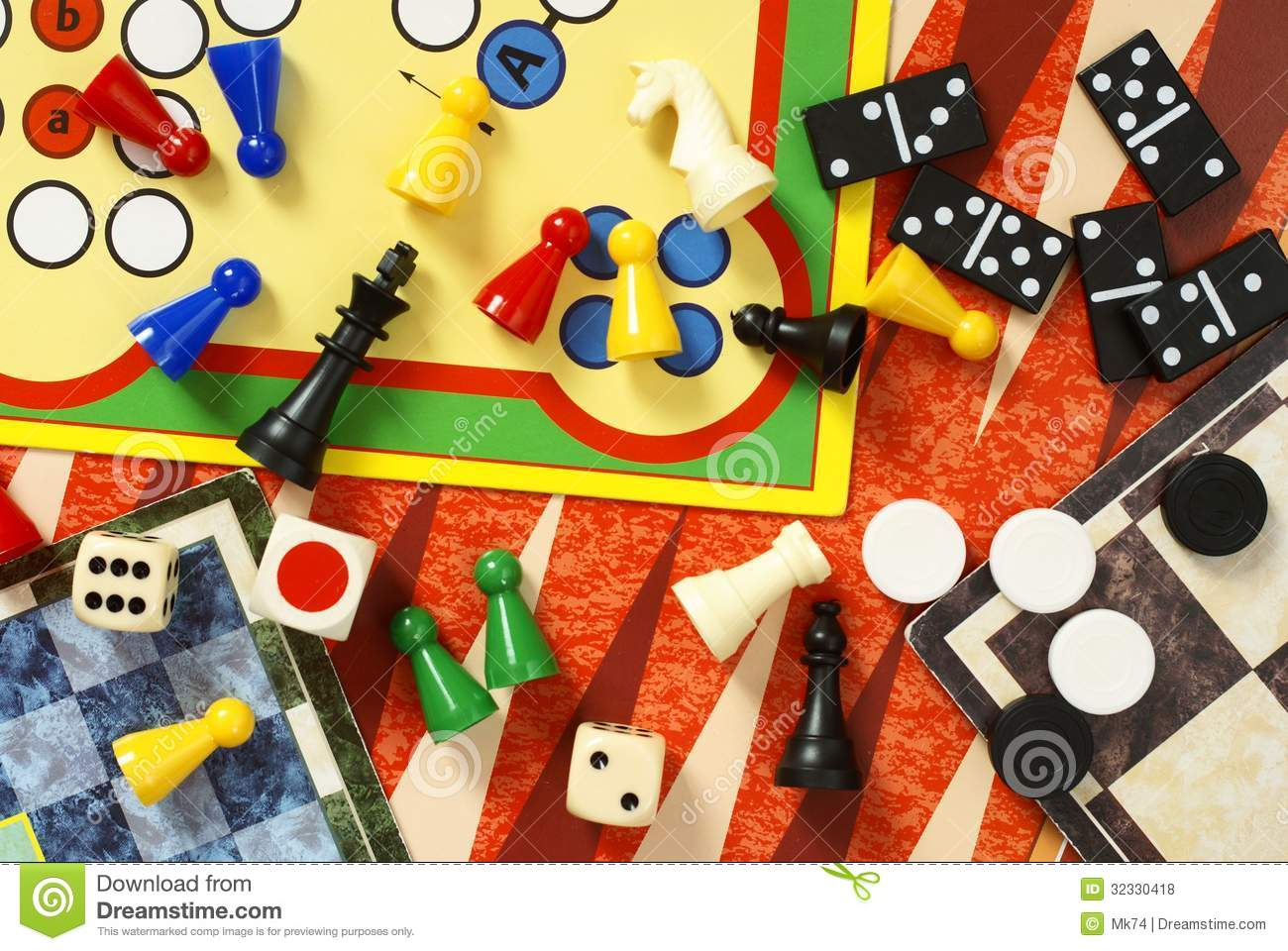 Board Games Royalty Free Stock Photos - Image: 32330418