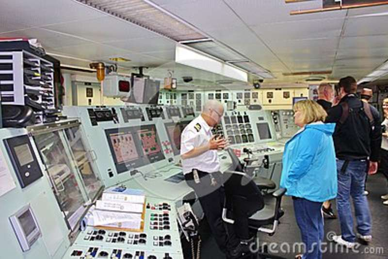 On board at the icebreakers in Luleå
