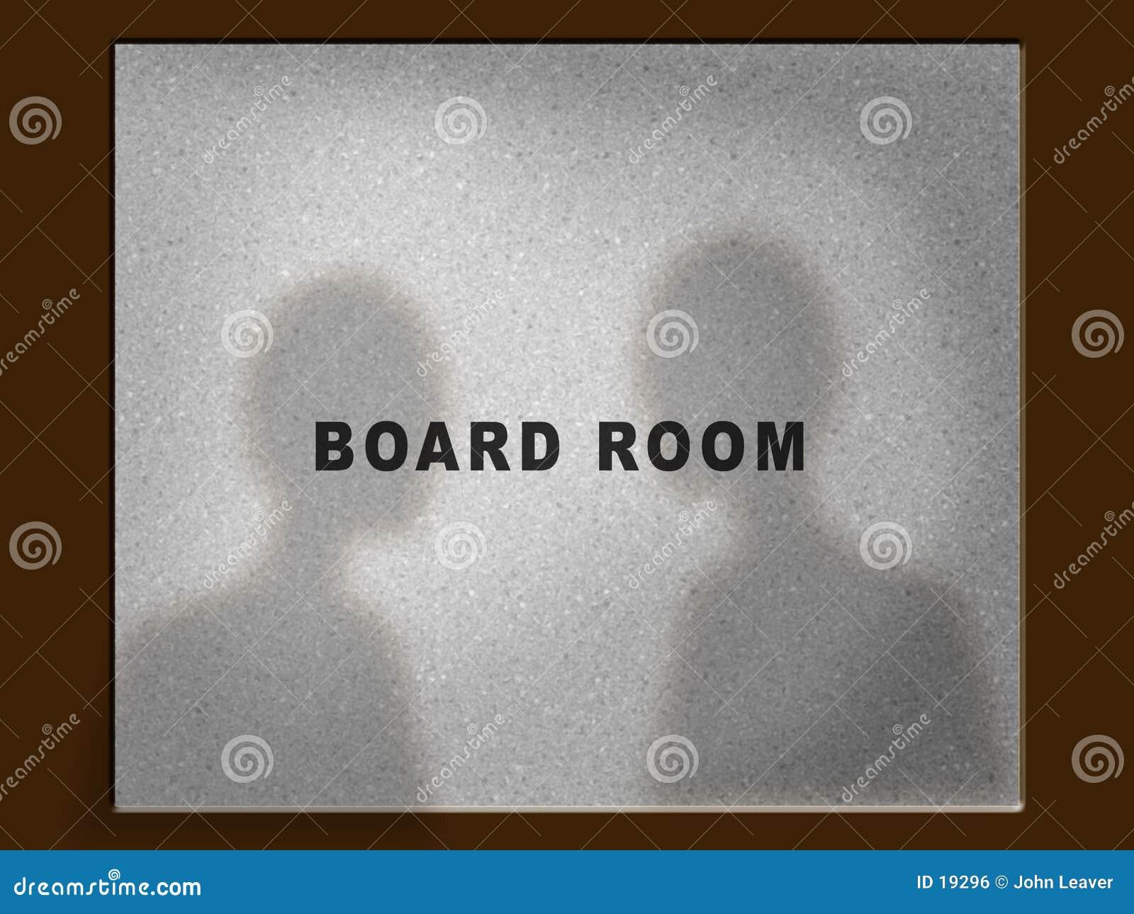 Board room door