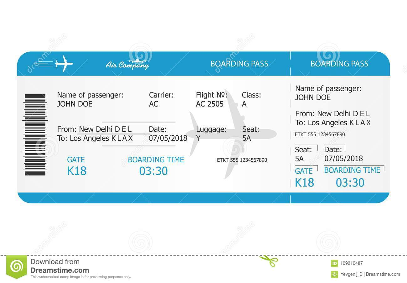 boarding pass ticket template airplane ticket online booking