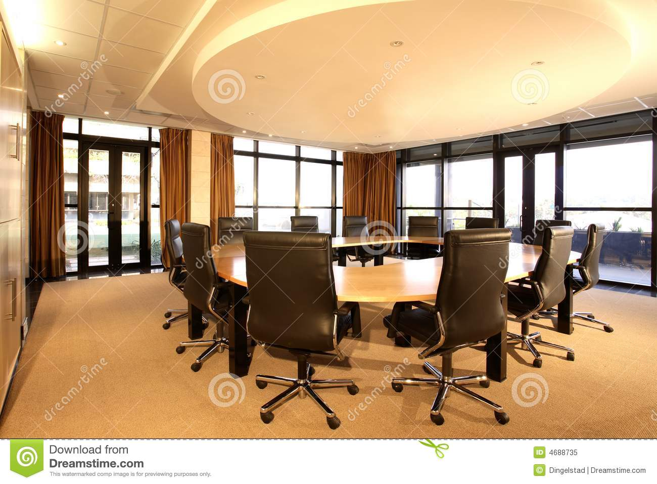 Furniture commercial furniture furniture furniture and furnishings - Boardroom Royalty Free Stock Photo Image 4688735