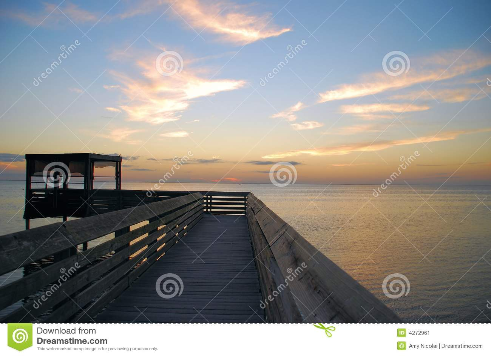 Boardwalk over Laguna Madre