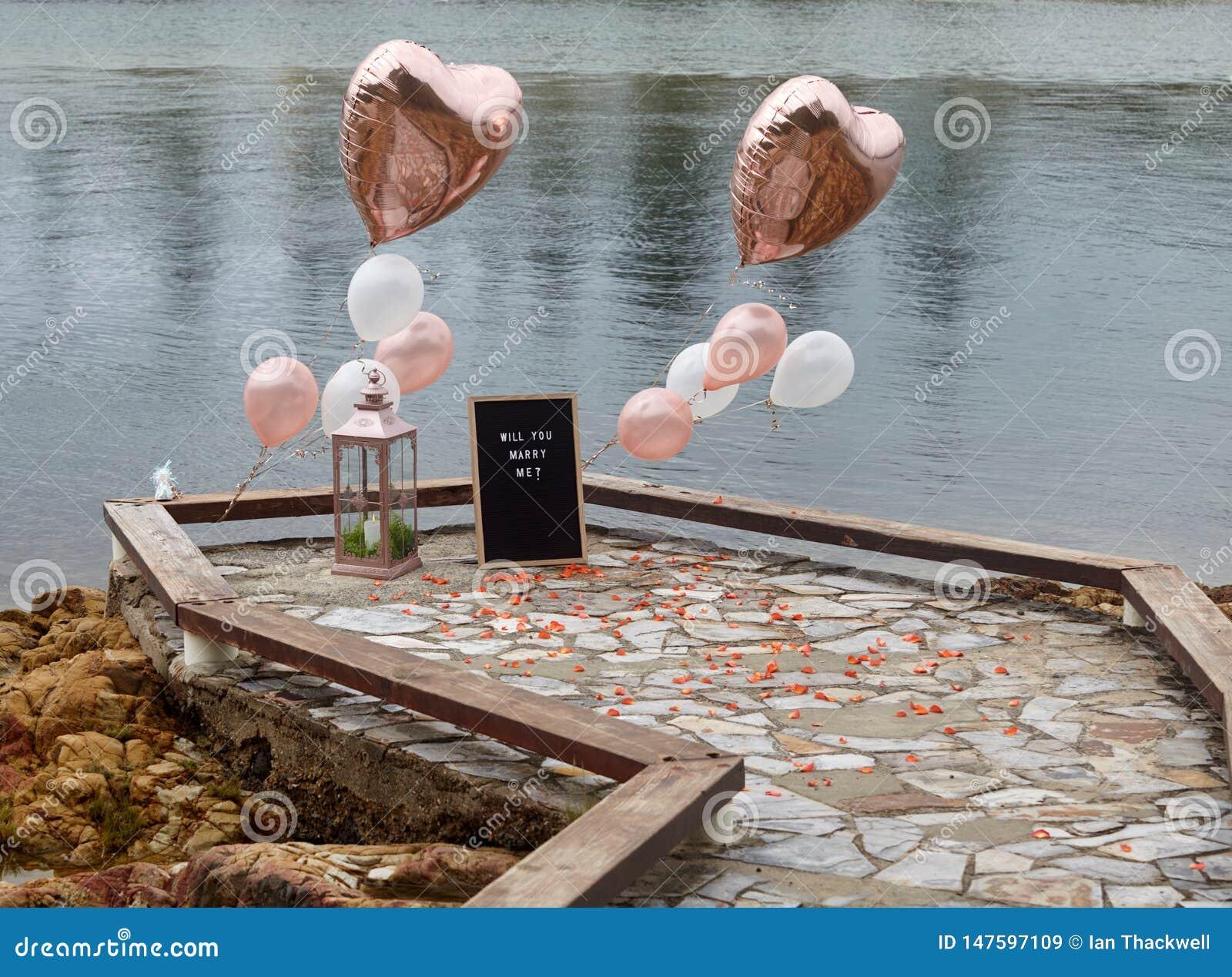 Boardwalk propozycja z Złocistymi balonami