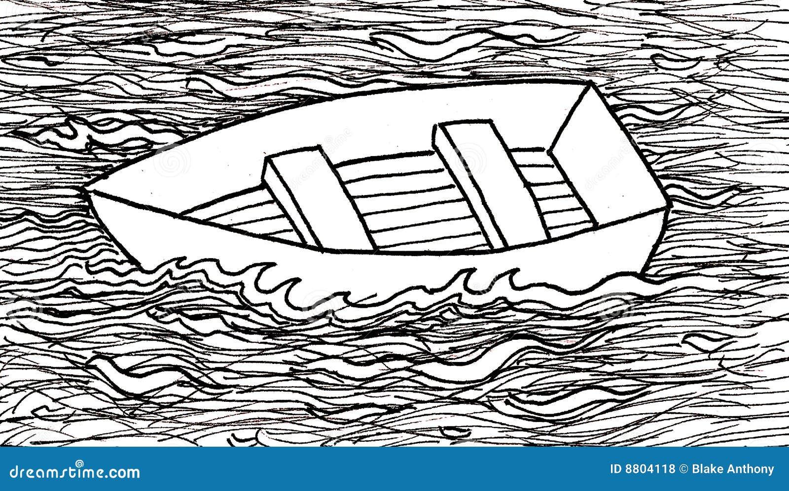 Boat Afloat Royalty Free Illustration Cartoondealer Com